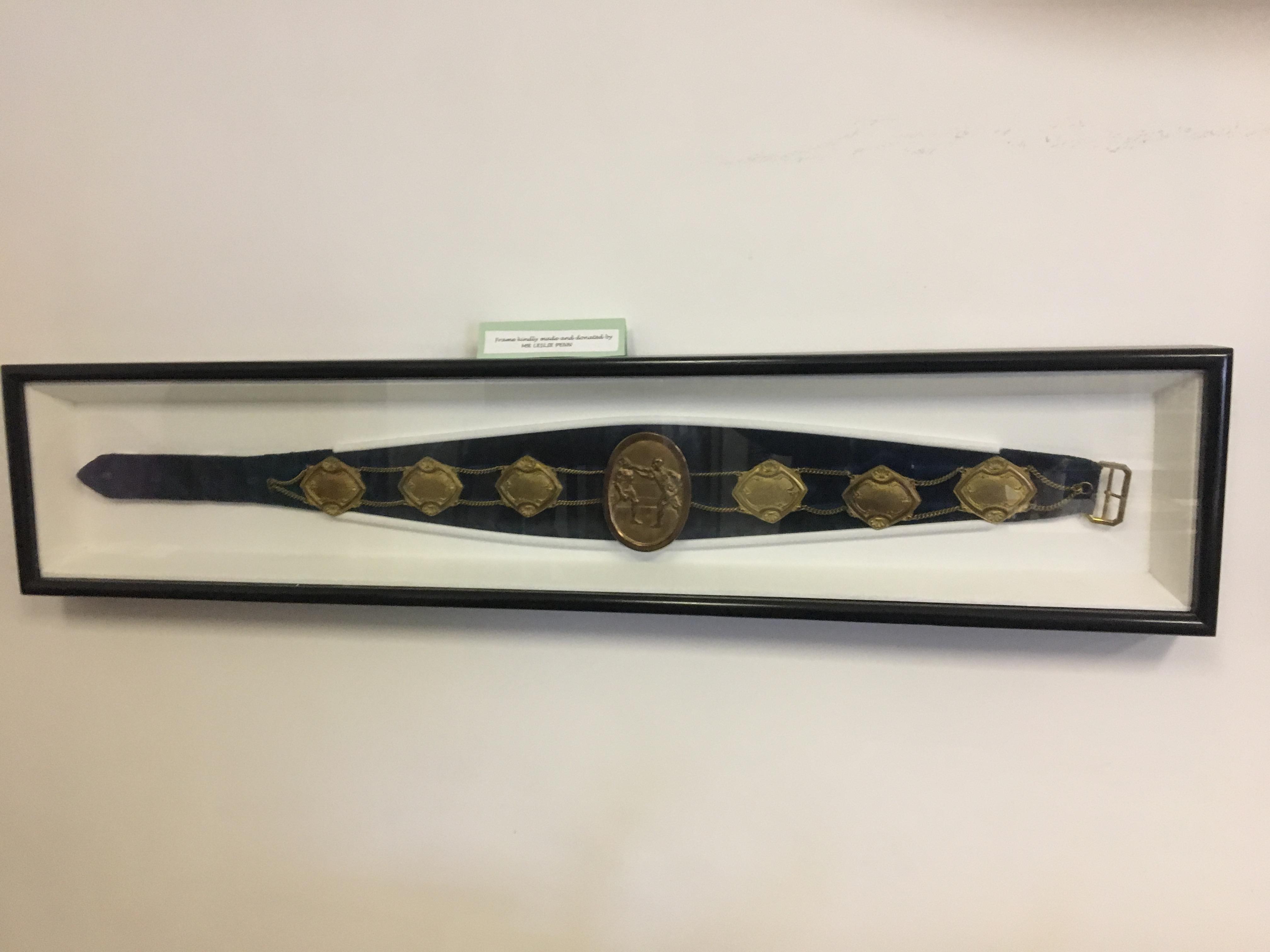 Chris Smart belt