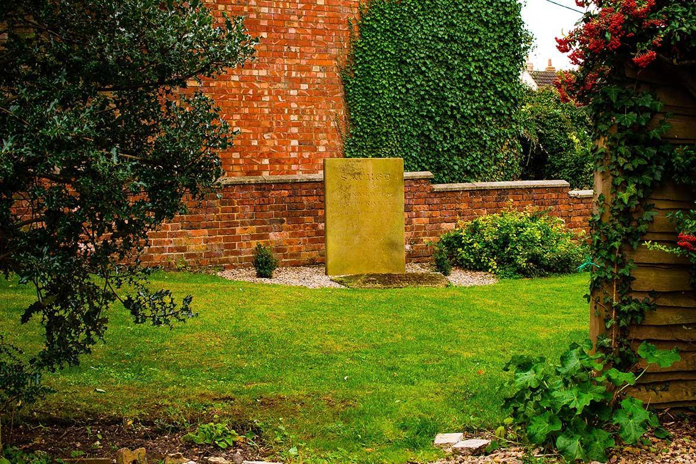 the cemetery garden