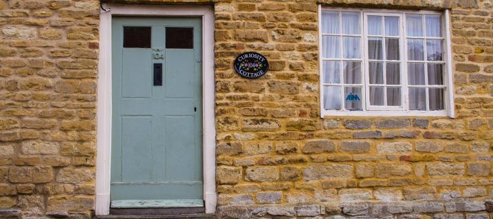 Curiosity Cottage entrance